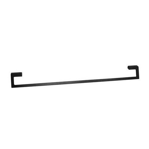 Time Square Single Towel Rail 900mm Matte Black [151067]