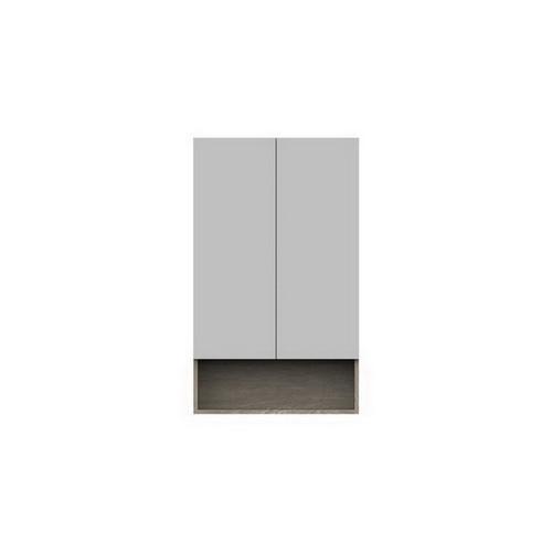 Shelf Mirrored Cabinet 600mm 2 Door [151098]