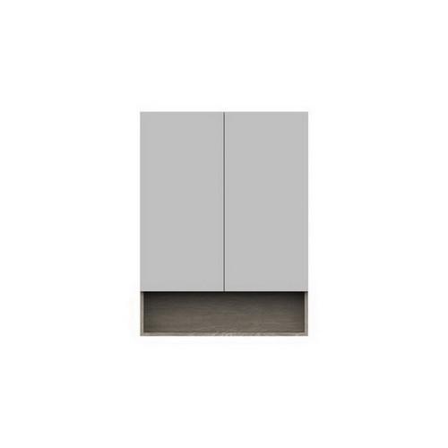 Shelf Mirrored Cabinet 750mm 2 Door [151099]