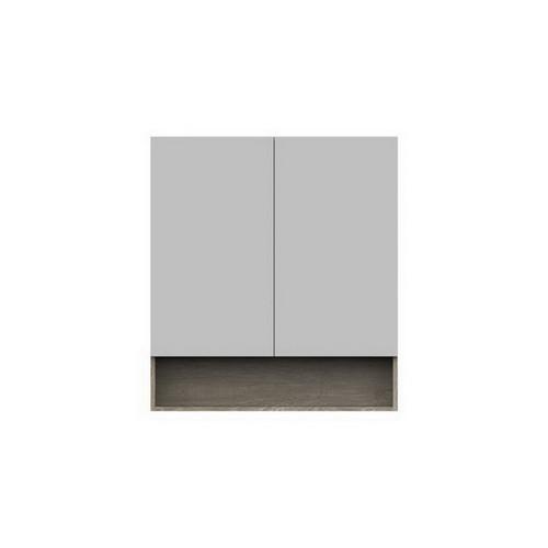Shelf Mirrored Cabinet 900mm 2 Door [151100]