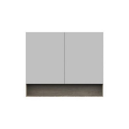 Shelf Mirrored Cabinet 1200mm 2 Door [151101]