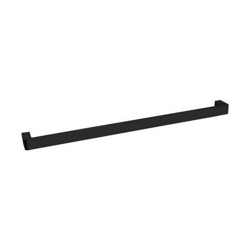 Brooklyn Single Towel Rail 600mm Matte Black [155027]