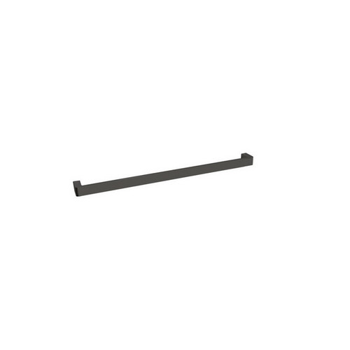 Brooklyn Single Towel Rail 600mm Polished Black Sapphire [155029]