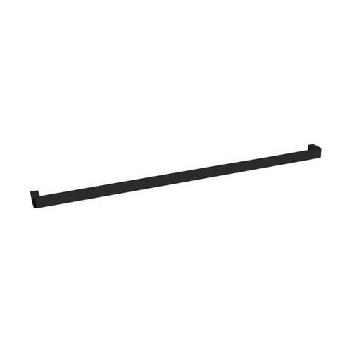 Brooklyn Single Towel Rail 900mm Matte Black [155034]