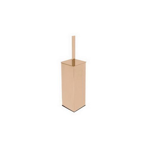 Soho Freestanding Toilet Brush Holder Brushed Rose Gold [155063]