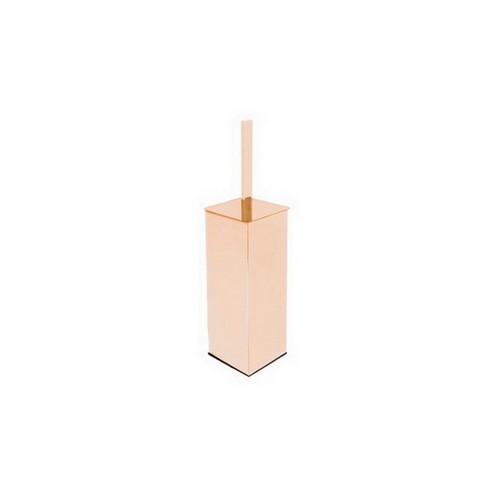 Soho Freestanding Toilet Brush Holder Polished Rose Gold [155067]