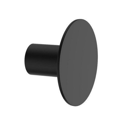 Round Wall Hook Matte Black [156464]