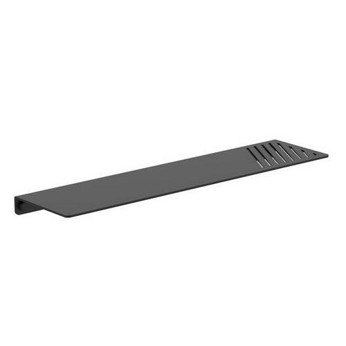 Square Metal Shelf Matte Black [156471]