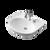 Laser Semi Recessed Basin - 3Th [057493]
