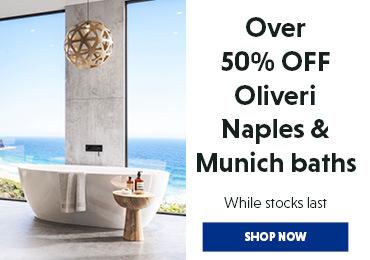Oliver Baths Over 50% Off