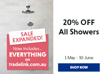 20% off all Showers