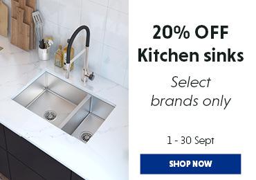 Kitchen Sinks 20% off