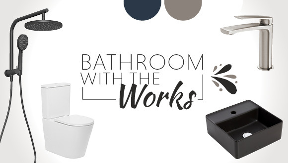 Bathroom with the Works