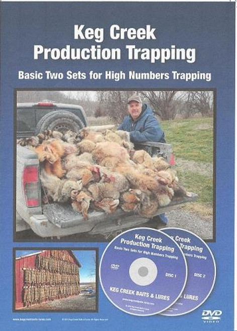 Keg Creek Production Trapping Basic Two Sets for High Numbers Trapping