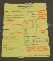 Jesus Autopsy Christian shirt | Take Courage | print
