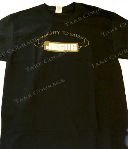 Jesus Muscle - Christian Shirt  - Black