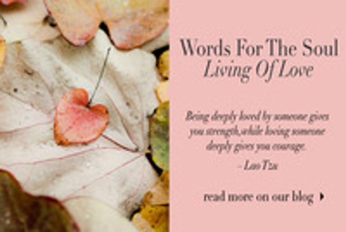 Words for the Soul: Living of Love