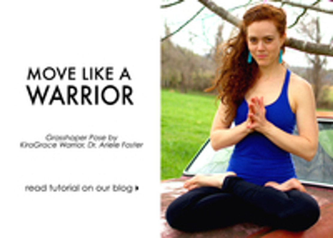 Move Like A Warrior: Yoga Poses with Ariele Foster