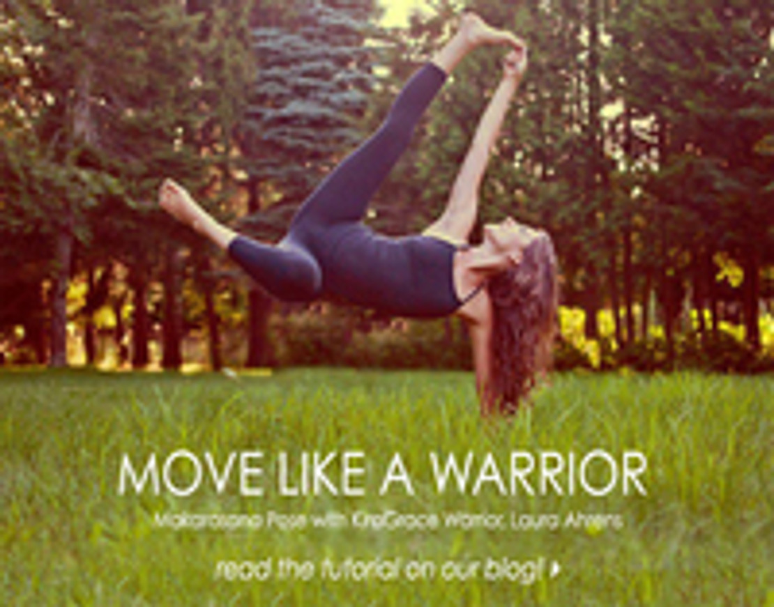 Move Like A Warrior: Dolphin pose with Laura Ahrens
