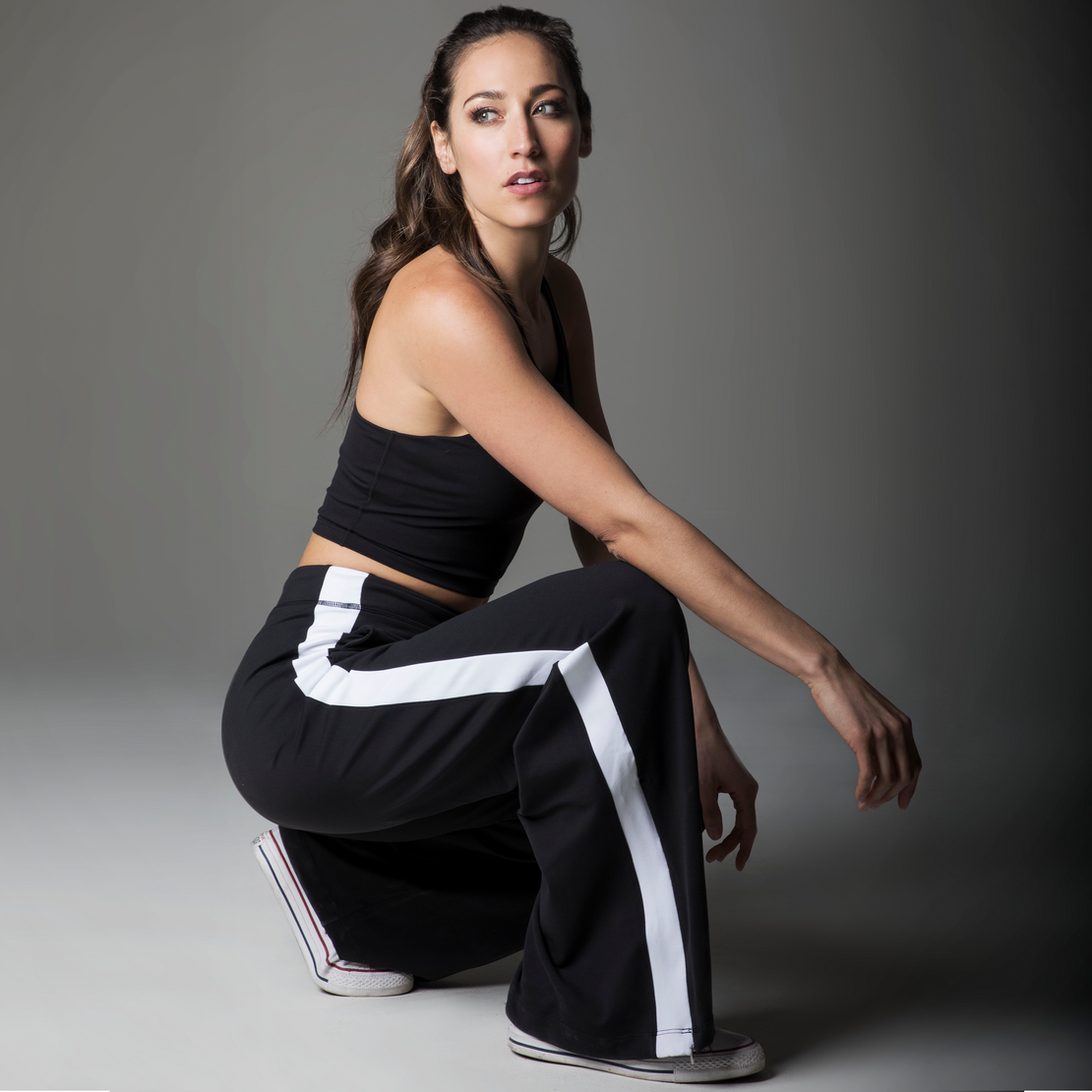 Wide Leg Yoga Pants are In Style