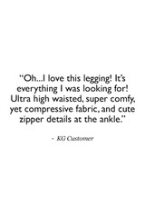 Long and Lean Tight (Black) Customer Review Quote