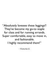 Crescent Mesh Tight Customer Review Quote