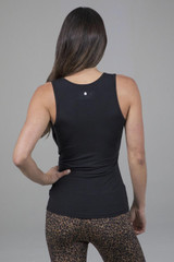 High Coverage Ruched Cami back view