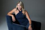 Lifestyle shot of glamour goddess luxe halter