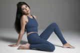Oceana Crop Top and Legging Activewear Set