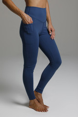 High Rise Sculpting Yoga Tights with Side Pockets