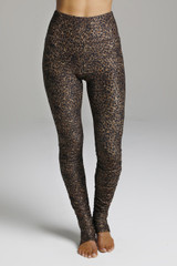 Full Length Elegant Leopard Animal Pattern Leggings