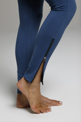 Side Zip Detailing on the Long and Lean Leggings