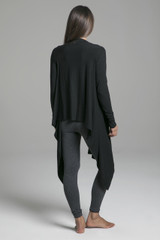 Ultra Soft Long Sleeve Yoga Knit Wrap back view