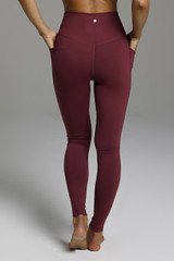 Compressive and Form Flattering Yoga Bottoms back view