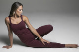 Red Activewear Yoga Outfit