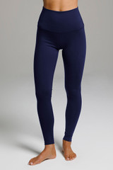 Marine Navy Renew long-length yoga legging