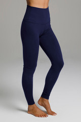 Yoga Legging in Marine Navy