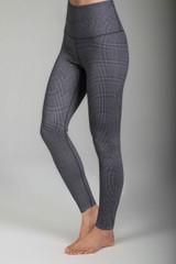 Renew Ultra High Waist Yoga Legging (Glen Plaid) side
