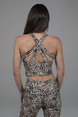 Kathryn Midi Yoga Tank (Leopard)