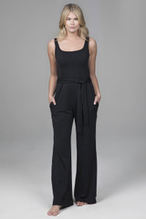 Jumpsuit in Black with pockets
