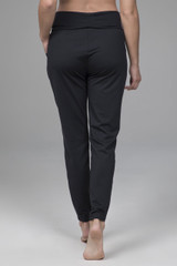 easy foldover jogger with fold-over waistband with drawcord and pockets