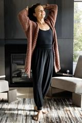 Grace Bodysuit & Harem Jogger on Tiffany Cruikshank