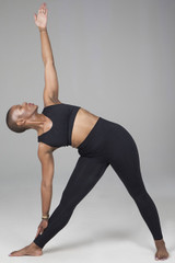 v-neck seamless yoga bra