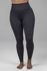 Black Seamless Yoga Leggings