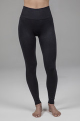 Ribbed Leggings in black