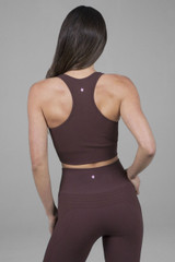 Seamless yoga clothing racerback