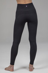 Black seamless leggings