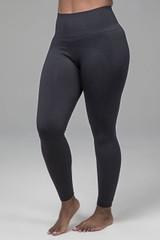 Kathryn Seamless Yoga Legging in Black