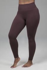 Kathryn Seamless Yoga Legging in Cocoa