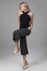 cozy boho crop pant with kiragrace luxe halter